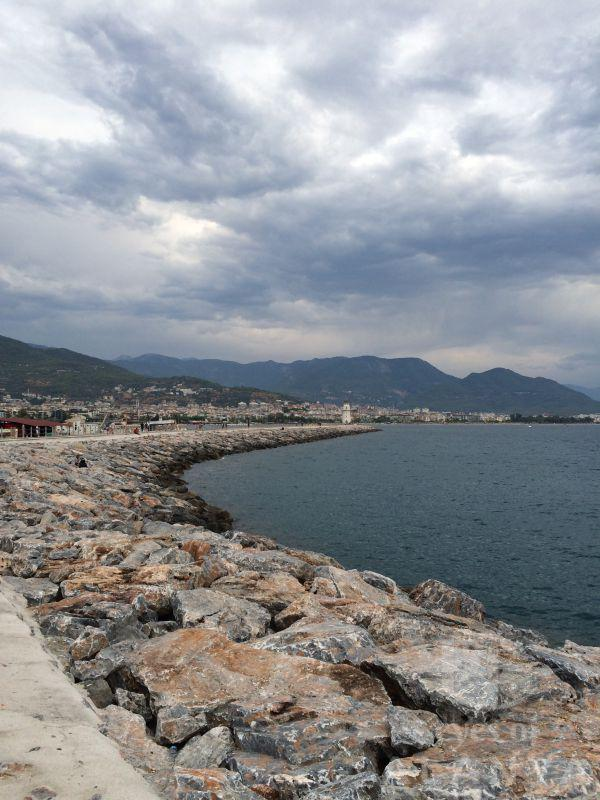 The long jetty. The lighthouse of Alanya from Paris with lov -Kozhevnikov, Michail